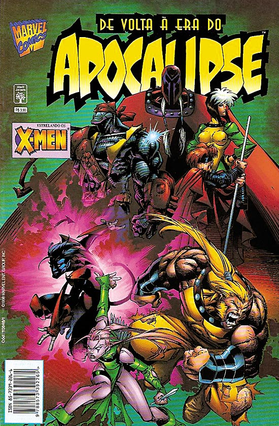 DE VOLTA A ERA DO APOCALIPSE - X-MEN - ED. ABRIL