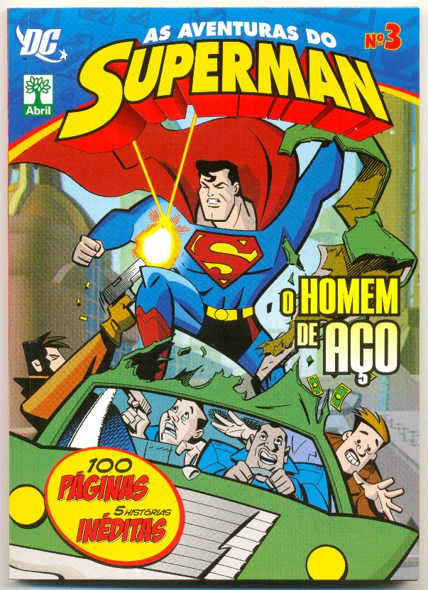 AS AVENTURAS DO SUPERMAN nº03 - EDITORA ABRIL