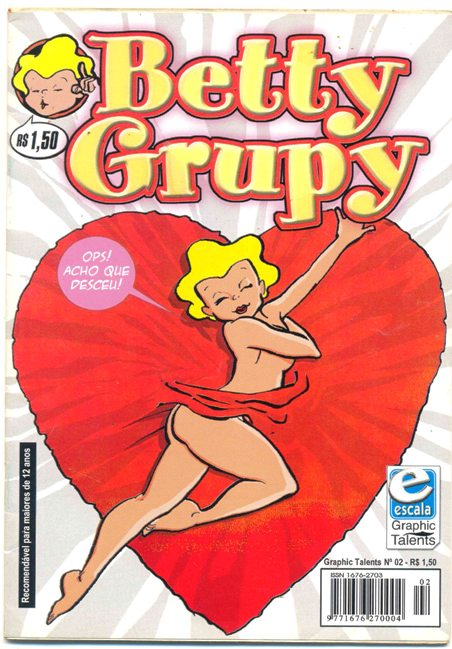 GRAPHIC TALENTS n°02 - BETTY GRUPY