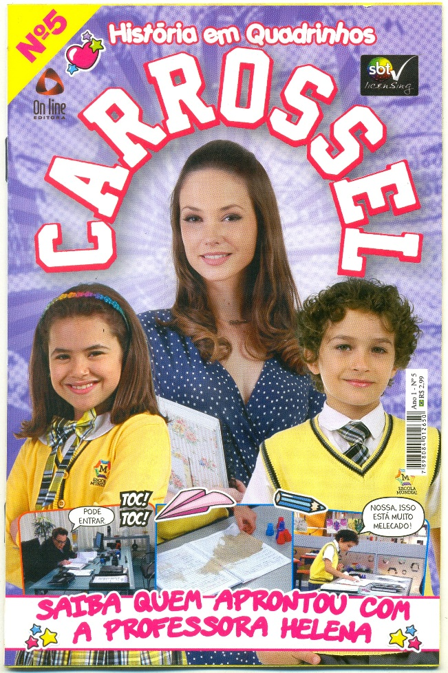CARROSSEL nº05 - EDITORA ON LINE