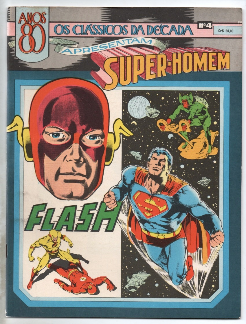 CLÁSSICOS DE 1980 nº04 - SUPERMAN & FLASH