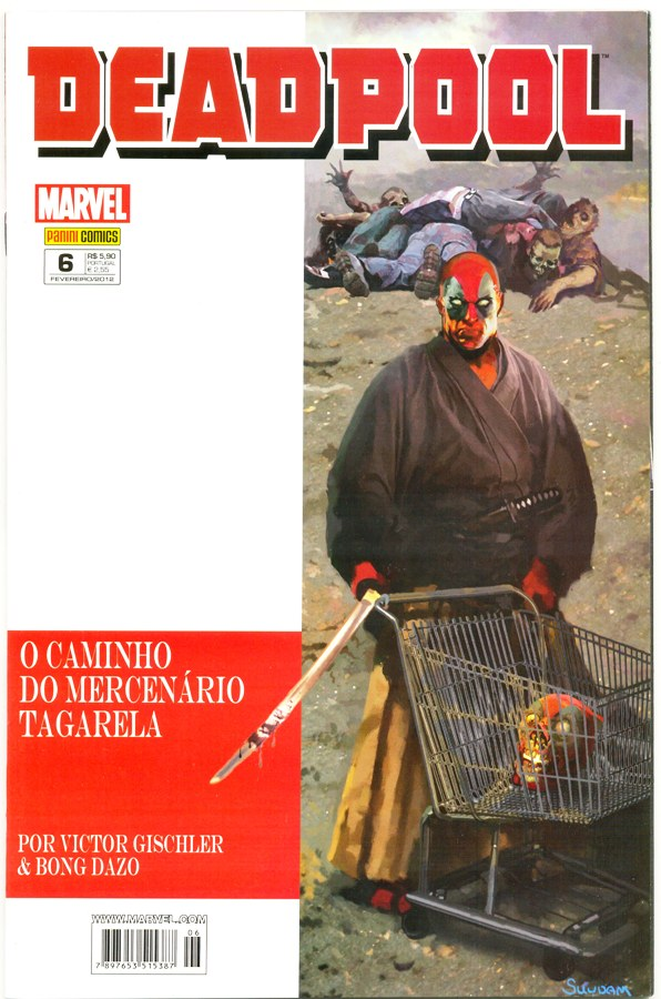 DEADPOOL nº06 - PANINI
