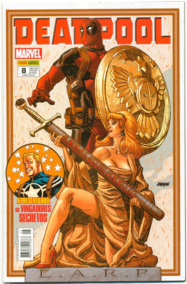 DEADPOOL nº08 - PANINI