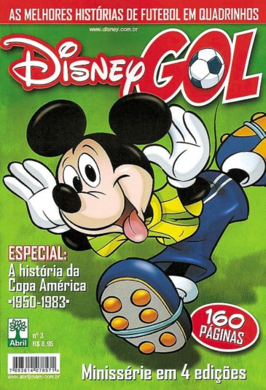 DISNEY GOL nº03 - ED. ABRIL