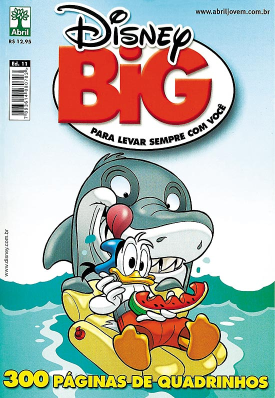 DISNEY BIG nº11 - EDITORA ABRIL