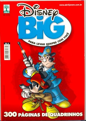 DISNEY BIG nº06 - EDITORA ABRIL