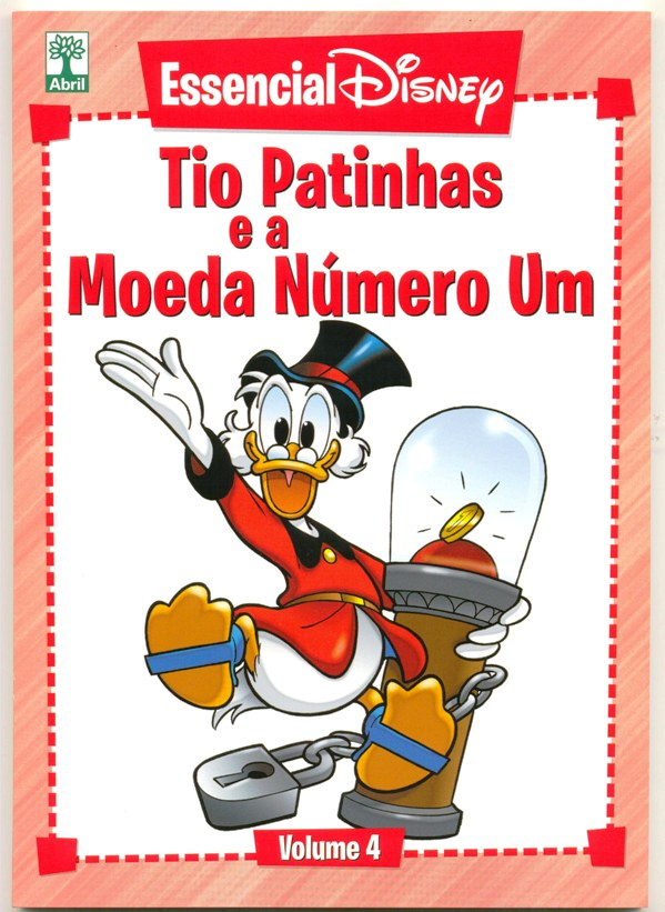 ESSENCIAL DISNEY nº04 - EDITORA ABRIL