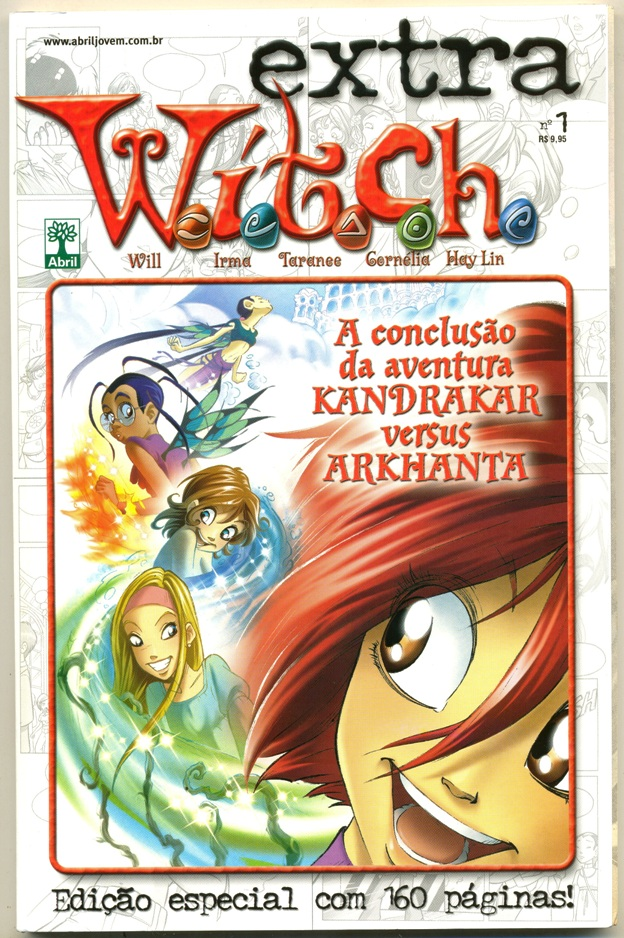 WITCH EXTRA nº01 - EDITORA ABRIL