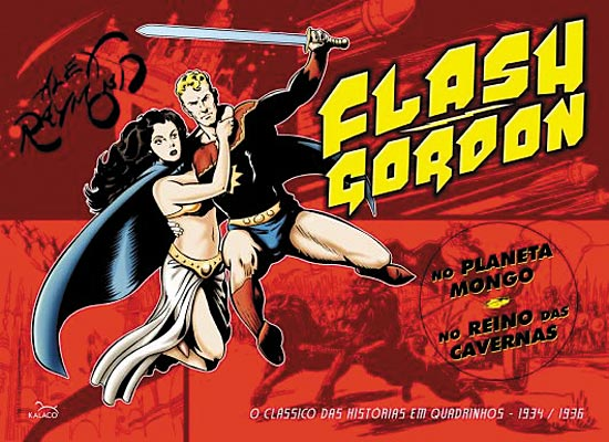 FLASH GORDON DE ALEX RAYMOND n° 01 - ED. KALACO