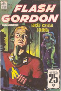 FLASH GORDON nº049 - EDITORA RGE
