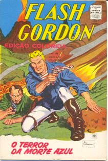 FLASH GORDON nº068 - EDITORA RGE