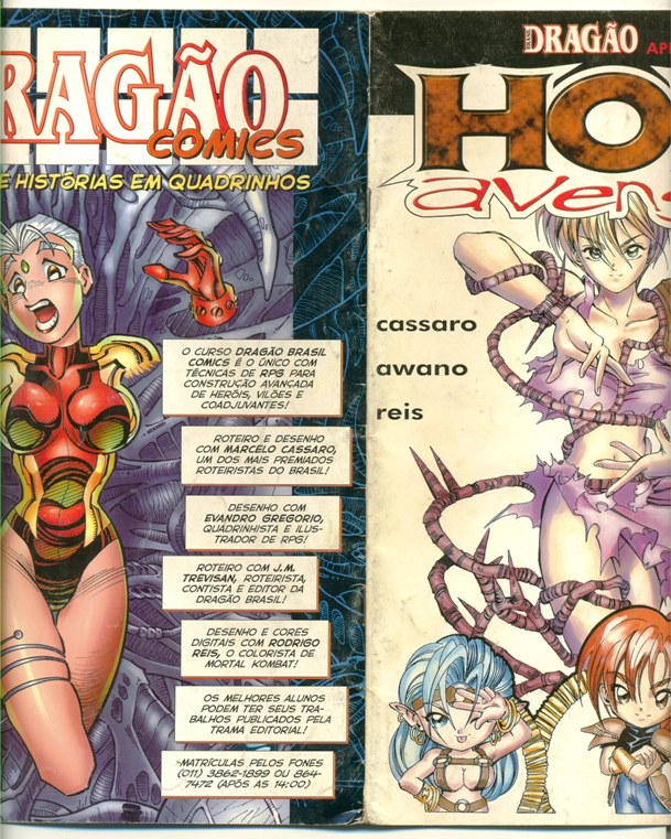 HOLY AVENGER RELOADED nº03 - EDITORA MYTHOS