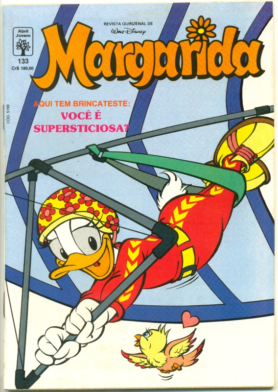 MARGARIDA nº133 - REVISTA DA EDITORA ABRIL