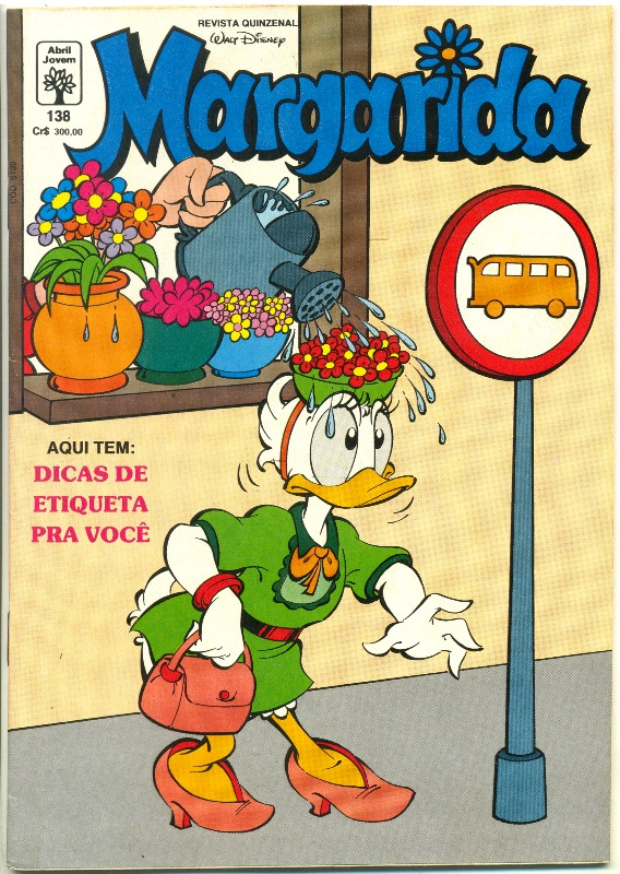MARGARIDA nº138 - REVISTA DA EDITORA ABRIL