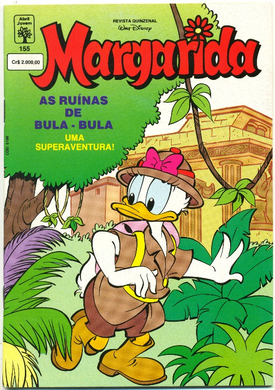 MARGARIDA nº155 - REVISTA DA EDITORA ABRIL
