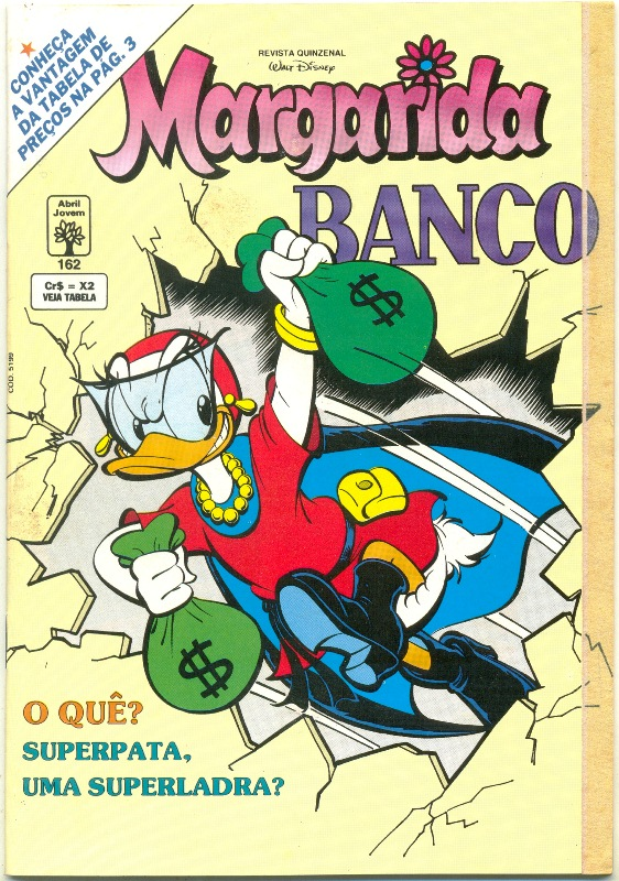 MARGARIDA nº162 - REVISTA DA EDITORA ABRIL