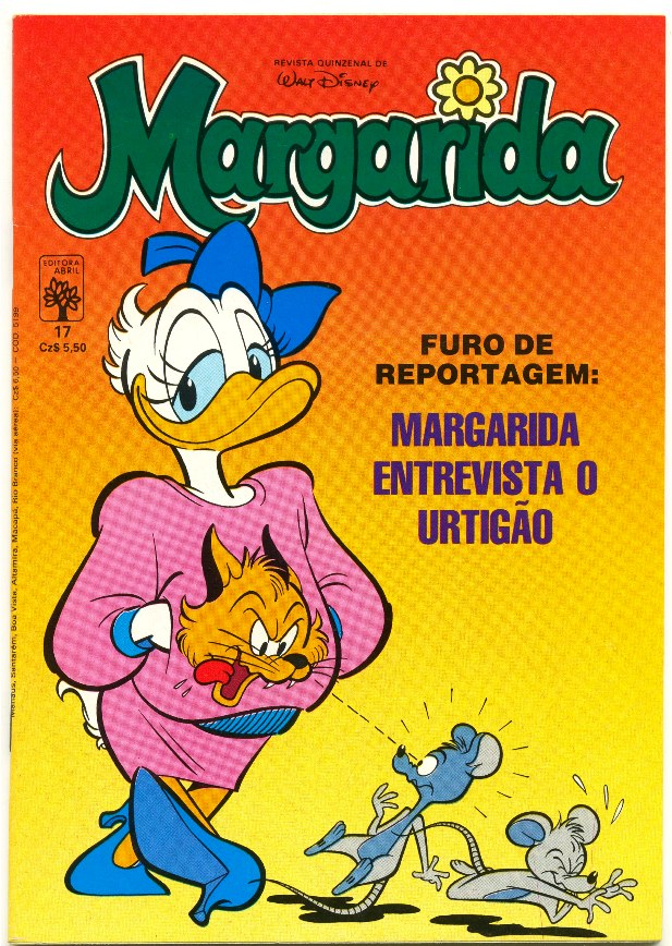 MARGARIDA nº017 - REVISTA DA EDITORA ABRIL