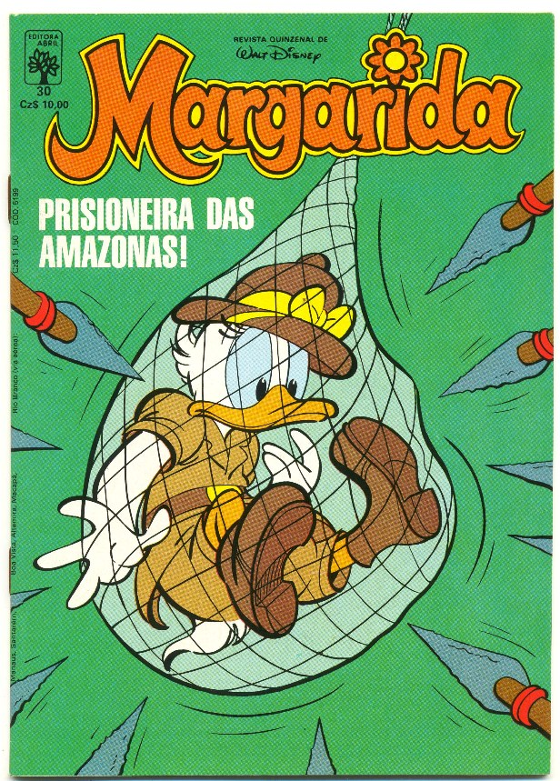 MARGARIDA nº030 - REVISTA DA EDITORA ABRIL