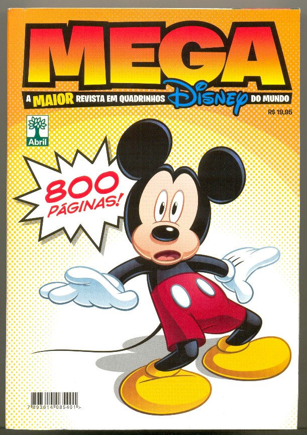 MEGA DISNEY nº01 - ED. ABRIL