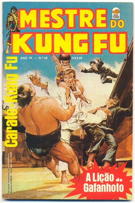MESTRE DO KUNG FU nº28 - ED. BLOCH