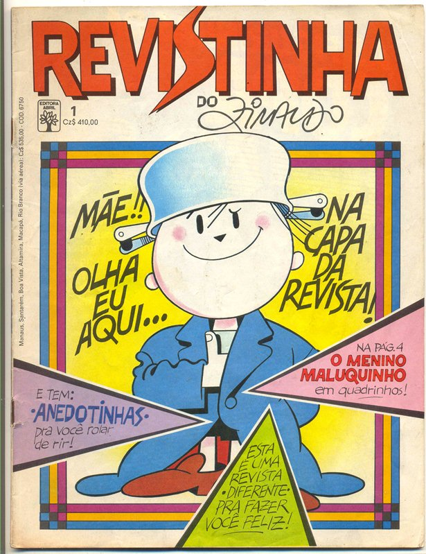 REVISTINHA DO ZIRALDO nº01 - ED.ABRIL