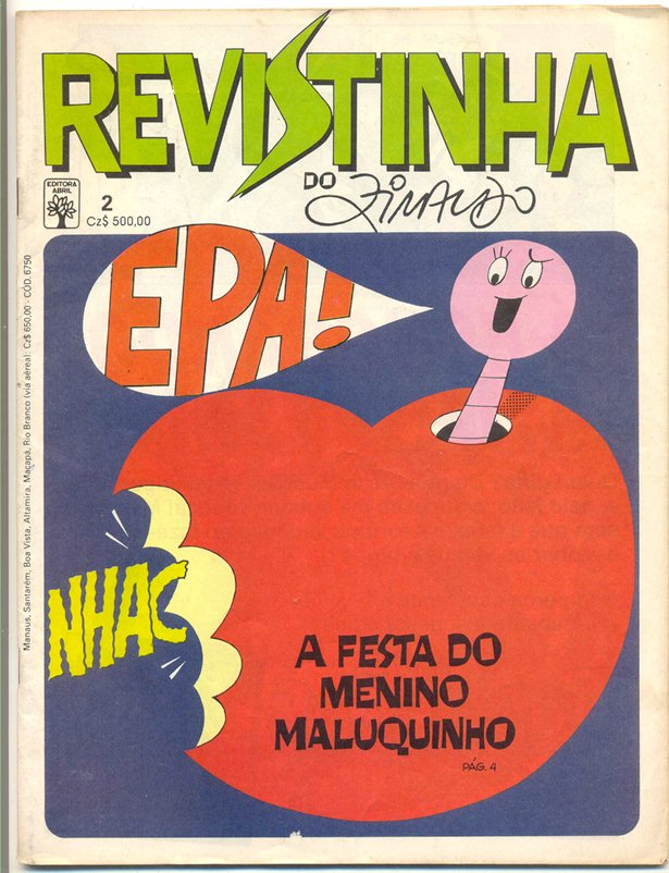 REVISTINHA DO ZIRALDO nº02 - ED.ABRIL