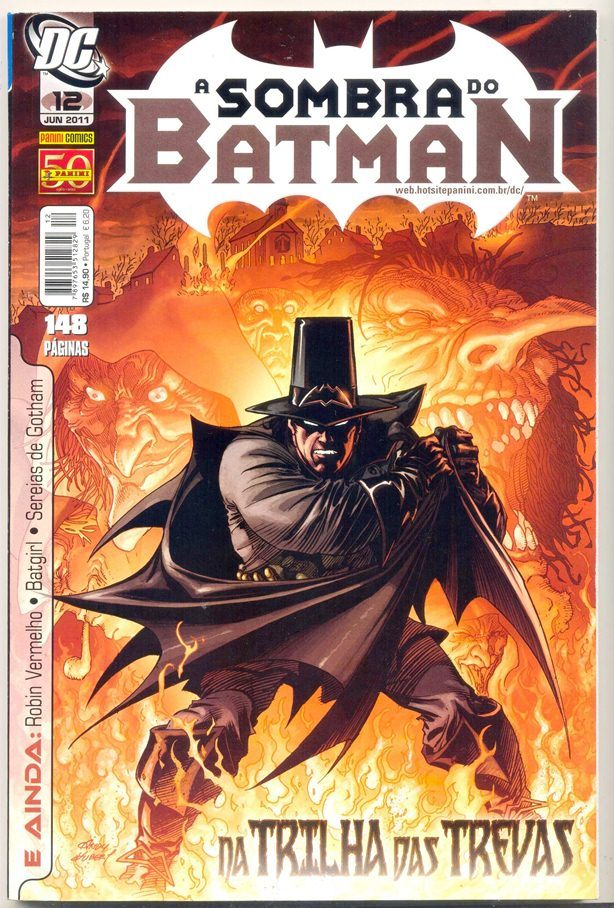A SOMBRA DO BATMAN nº12 - EDITORA PANINI