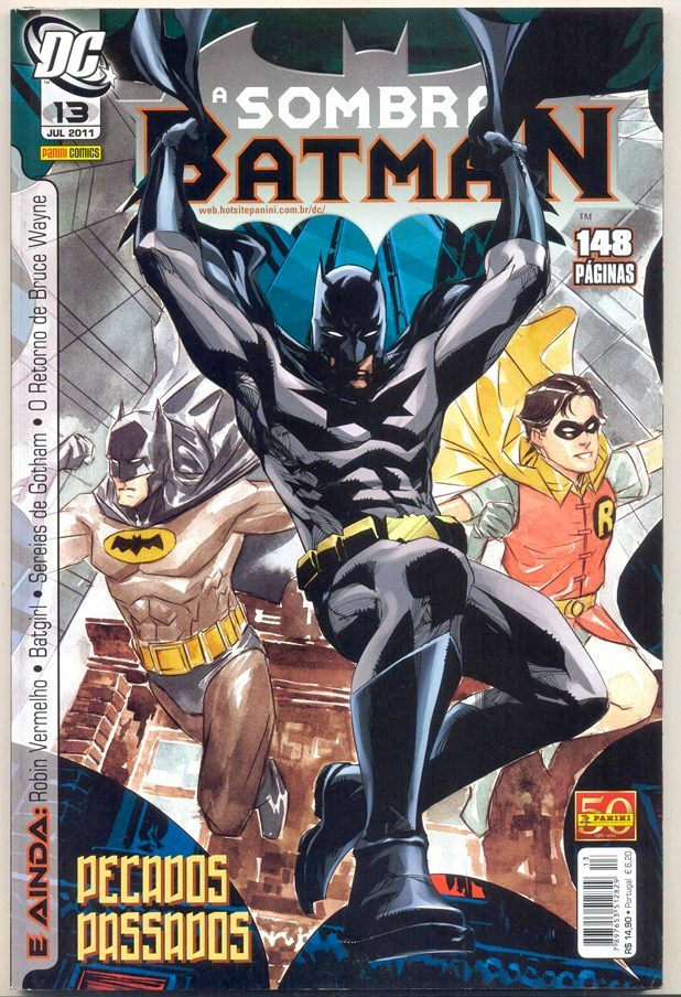 A SOMBRA DO BATMAN nº13 - EDITORA PANINI