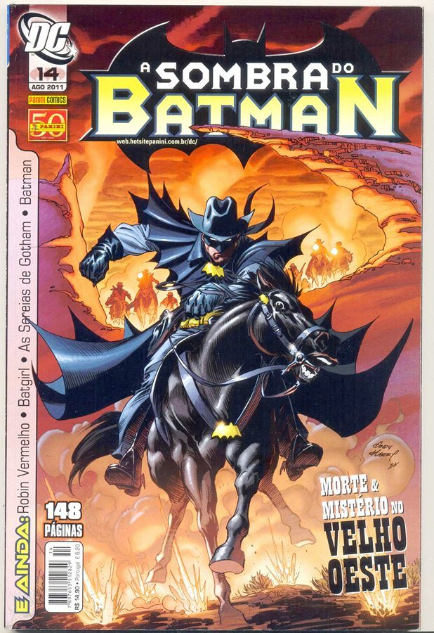A SOMBRA DO BATMAN nº14 - EDITORA PANINI
