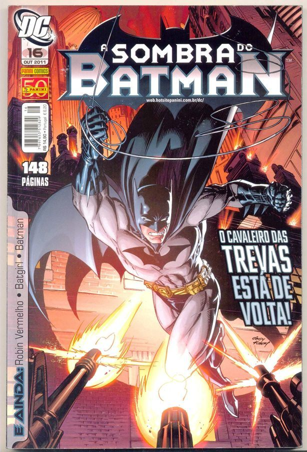 A SOMBRA DO BATMAN nº16 - EDITORA PANINI