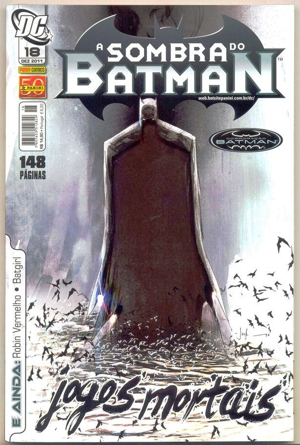 A SOMBRA DO BATMAN nº18 - EDITORA PANINI