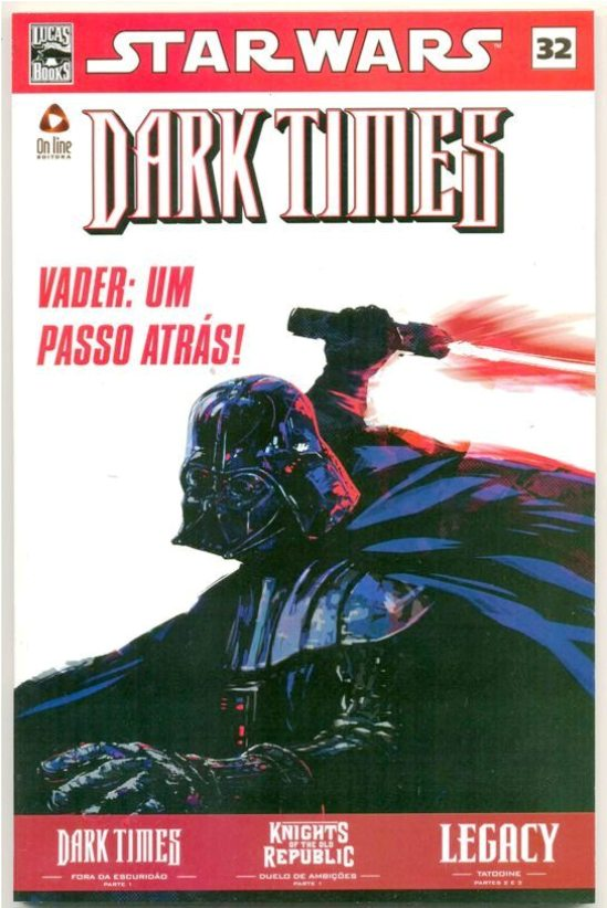 STAR WARS nº32 - DARK TIMES - ED. ON LINE