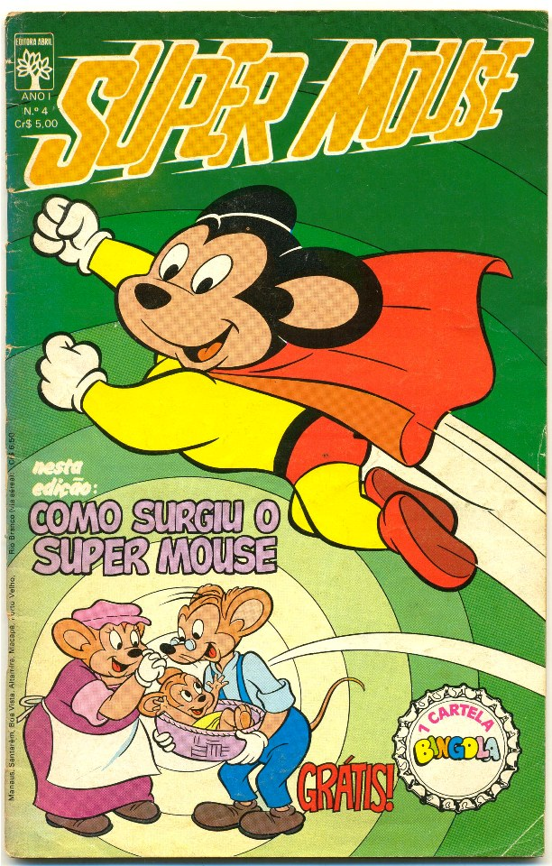 SUPER MOUSE nº04 - EDITORA ABRIL