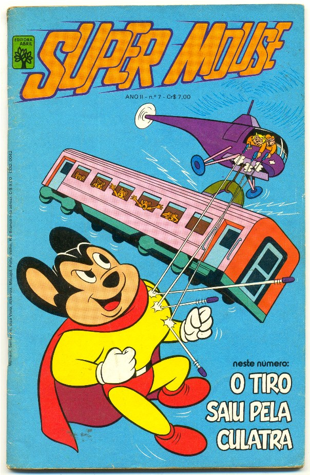 SUPER MOUSE nº07 - EDITORA ABRIL