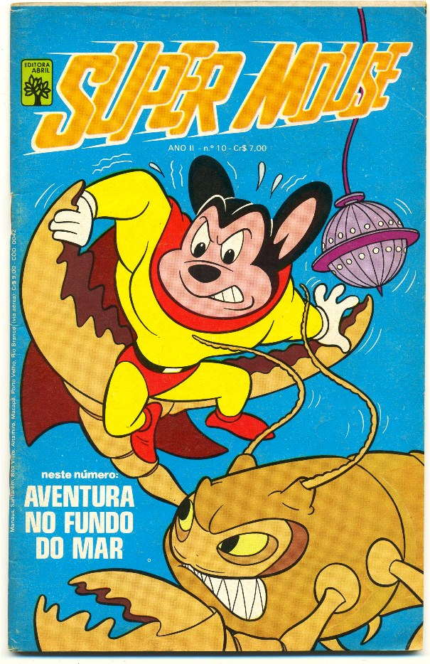 SUPER MOUSE nº10 - EDITORA ABRIL