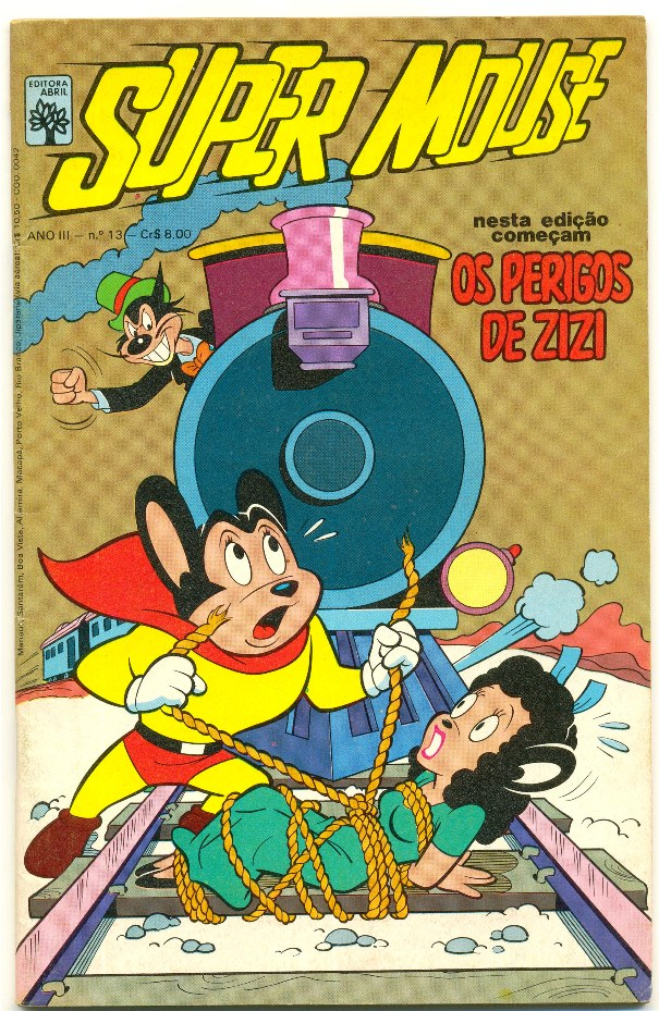 SUPER MOUSE nº13 - EDITORA ABRIL
