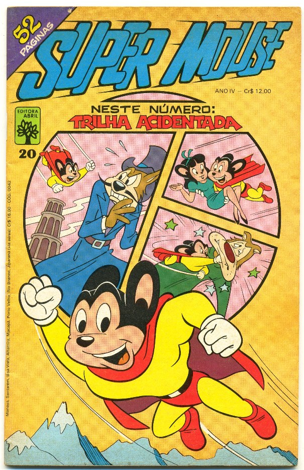 SUPER MOUSE nº20 - EDITORA ABRIL