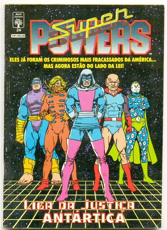 SUPERPOWERS nº24 - EDITORA ABRIL