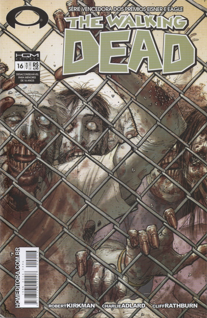THE WALKING DEAD nº16 - ED. HQM