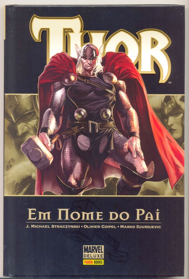 THOR MARVEL DELUXE nº02 - EM NOME DO PAI