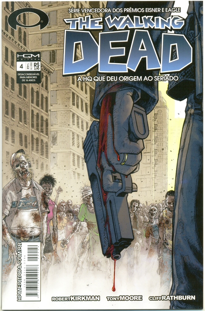THE WALKING DEAD nº04 - ED. HQM