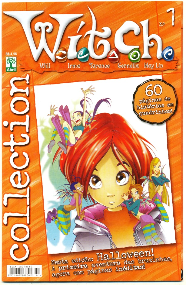 WITCH COLLECTION nº01 - EDITORA ABRIL