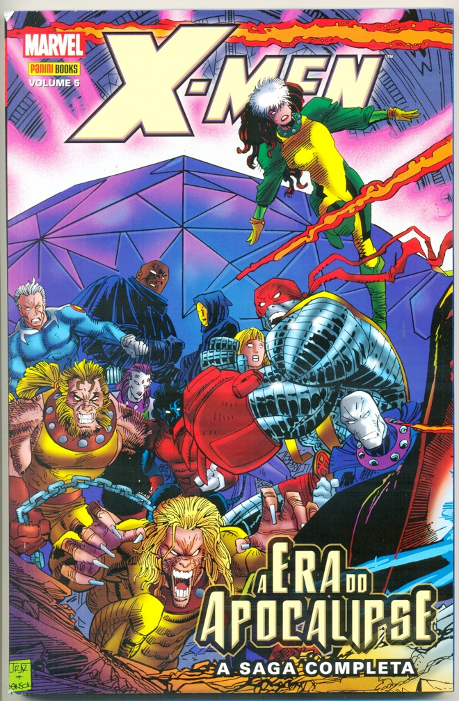 X-MEN A ERA DO APOCALIPSE nº05 - EDITORA PANINI