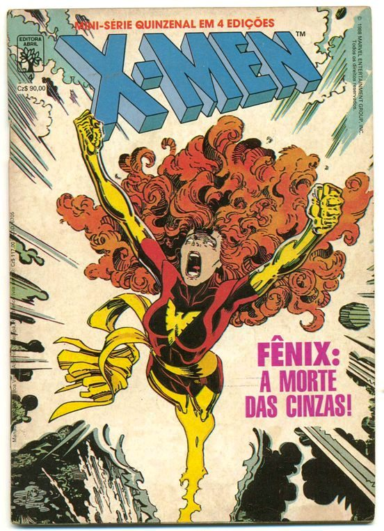 X-MEN - MINI-SÉRIE PARTE 04 - ED. ABRIL