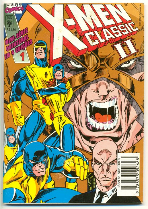 X-MEN CLASSIC II PARTE 01 - ED. ABRIL
