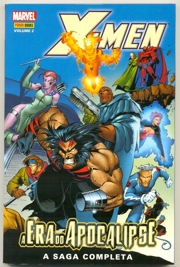 X-MEN A ERA DO APOCALIPSE nº02 - EDITORA PANINI