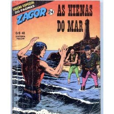 ZAGOR nº24 - AS HIENAS DO MAR - EDITORA VECCHI